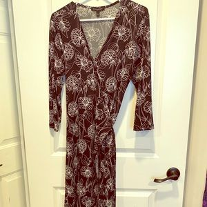 Banaba Republic Wrap floral dress LIKE NEW